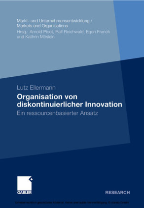 Organisation von diskontinuierlicher Innovation