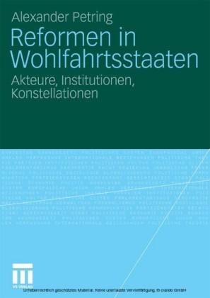 Reformen in Wohlfahrtsstaaten