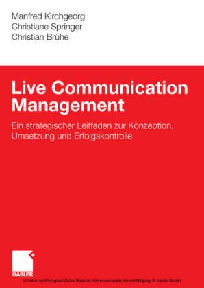 Live Communication Management