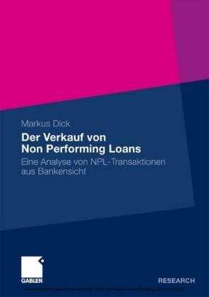 Der Verkauf von Non Performing Loans