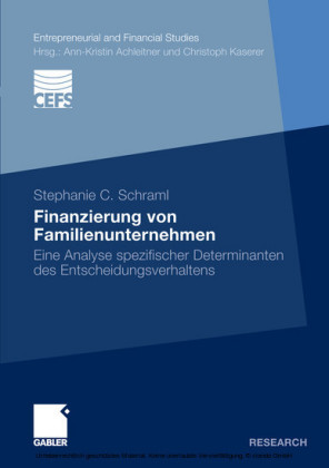 Finanzierung von Familienunternehmen