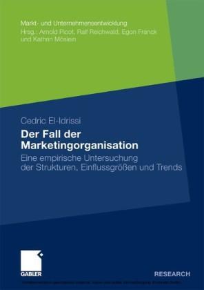 Der Fall der Marketingorganisation