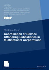 Coordination of Service Offshoring Subsidiaries in Multinational Corporations