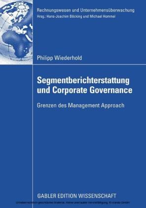 Segmentberichterstattung und Corporate Governance