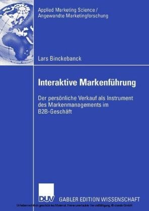 Interaktive Markenführung