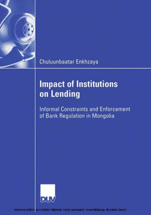 Impact of Institutions on Lending