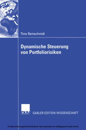 Dynamische Steuerung von Portfoliorisiken