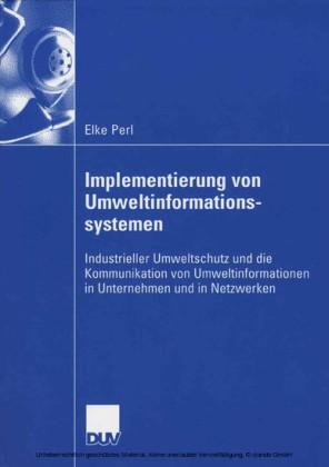 Implementierung von Umweltinformationssystemen
