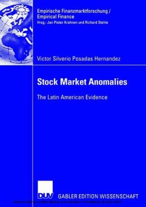 Stock Market Anomalies