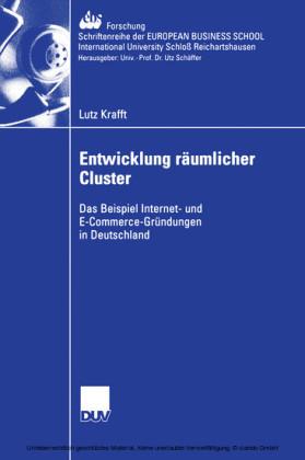 Entwicklung räumlicher Cluster