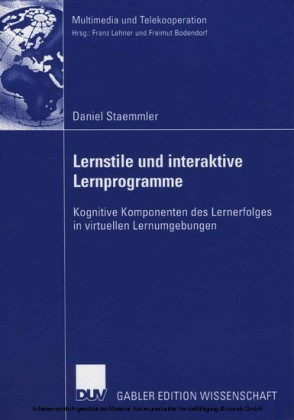 Lernstile und interaktive Lernprogramme