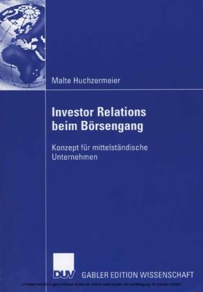 Investor Relations beim Börsengang