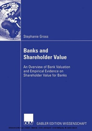 Banks and Shareholder Value