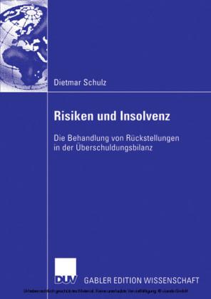 Risiken und Insolvenz