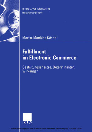 Fulfillment im Electronic Commerce