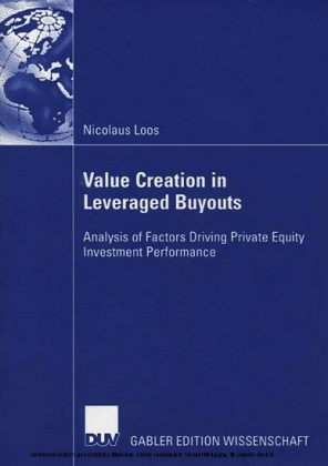 Value Creation in Leveraged Buyouts