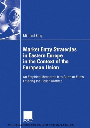 Market Entry Strategies in Eastern Europe in the Context of the European Union