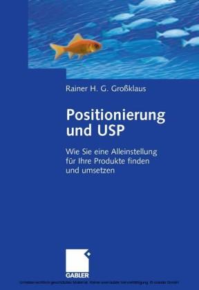 Positionierung und USP