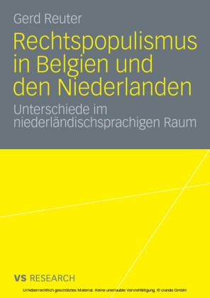 Rechtspopulismus in Belgien und den Niederlanden