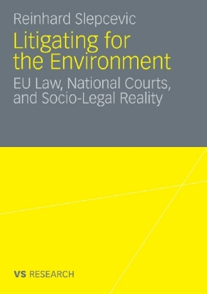 Litigating for the Environment