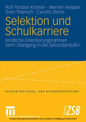 Selektion und Schulkarriere