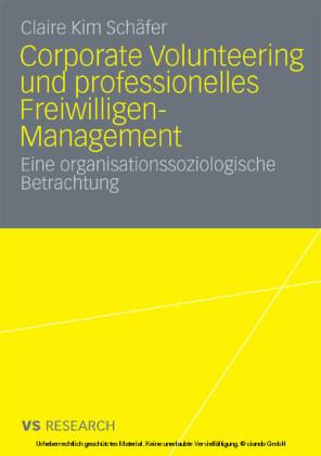 Corporate Volunteering und professionelles Freiwilligen-Management