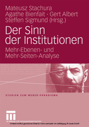 Der Sinn der Institutionen