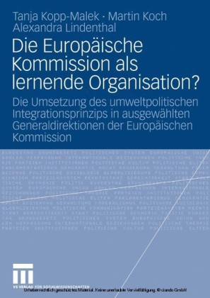 Die Europäische Kommission als lernende Organisation?