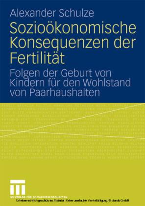 Sozioökonomische Konsequenzen der Fertilität
