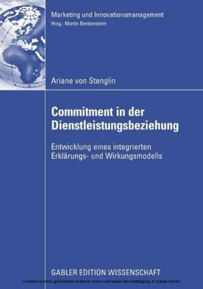 Commitment in der Dienstleistungsbeziehung