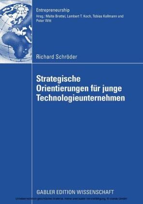 Strategische Orientierungen für junge Technologieunternehmen