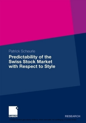 Predictability of the Swiss Stock Market with Respect to Style