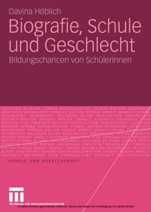Biografie, Schule und Geschlecht