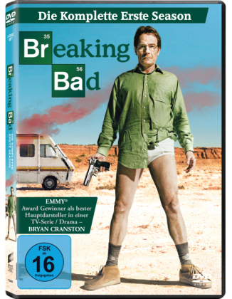 Breaking Bad, 3 DVDs