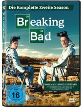 Breaking Bad, 4 DVDs Cover