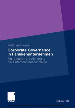 Corporate Governance in Familienunternehmen