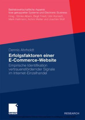 Erfolgsfaktoren einer E-Commerce-Website