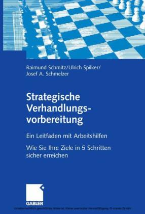 Strategische Verhandlungsvorbereitung