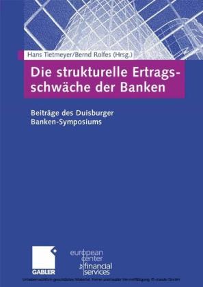 Die strukturelle Ertragsschwäche der Banken