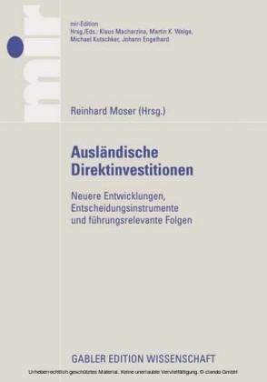Ausländische Direktinvestitionen: