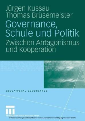 Governance, Schule und Politik