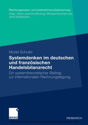 Systemdenken im deutschen und französischen Handelsrecht