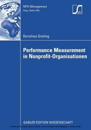 Performance Measurement in Nonprofit-Organisationen