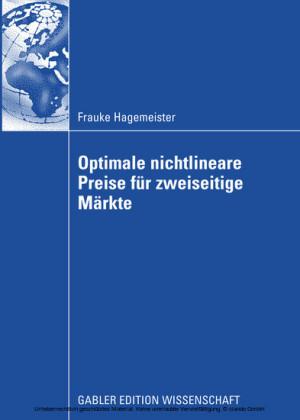 Optimale nichtlineare Preise für zweiseitige Märkte