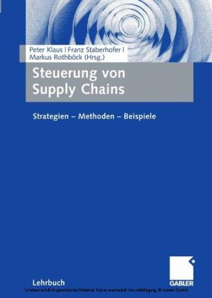 Steuerung von Supply Chains