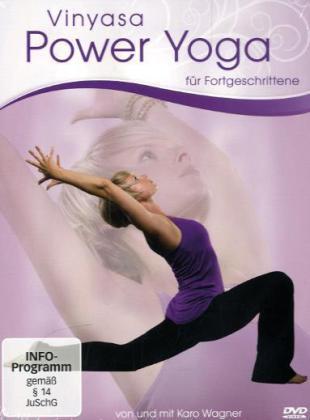 Vinyasa Power Yoga für Fortgeschrittene - von und mit Caro Wagner, 1 DVD