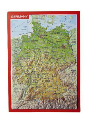 Germany, Reliefpostkarte