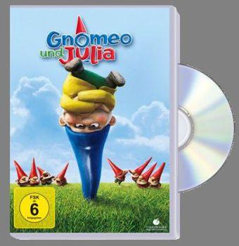 Gnomeo und Julia, 1 DVD