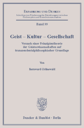 Geist - Kultur - Gesellschaft