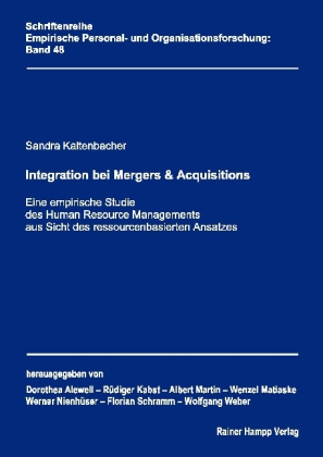 Integration bei Mergers & Acquisitions